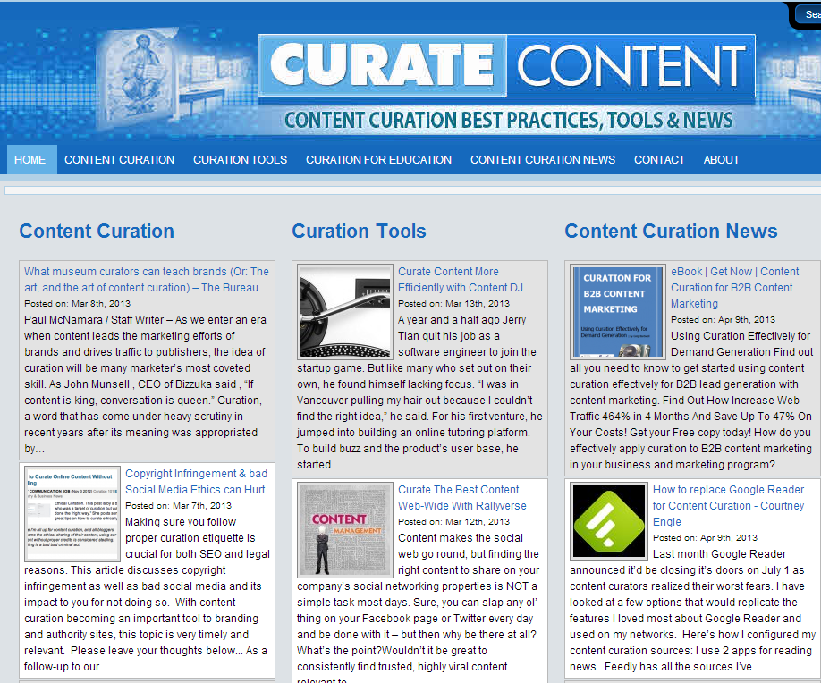Real World Content Curation – an Interview with Tex Gshwandtner